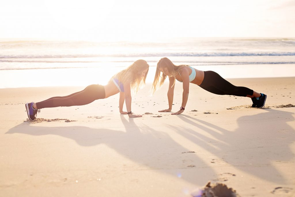 Exercise is a great thing to incorporate into your stay at home mom daily schedule.