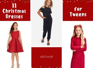 11 Christmas Dresses for Tweens