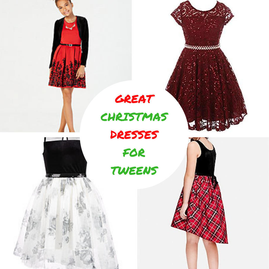 Christmas Dresses For Tweens