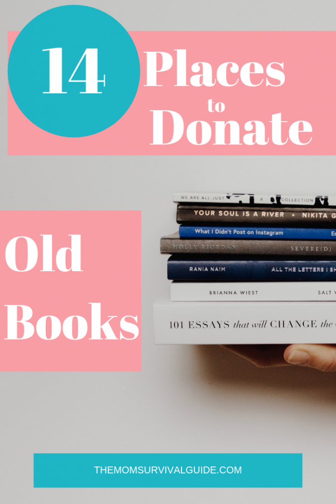 Get Organized by decluttering old books you no longer need.  Decluttering will have a life-changing effect on your home and life.  #lifechanging #organization #clutter #momlife #stayathomemom #inyourhome #nolongerneed #purge #books