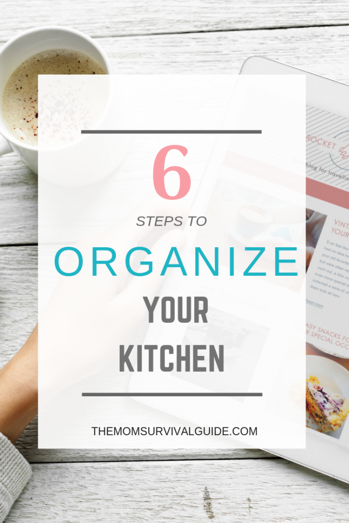 Organization solutions for your kitchen to keep you productive!  #momlife #organization #productivity #tips #hacks #happy