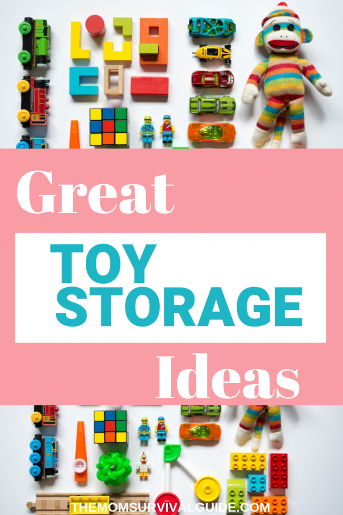 Organization starts with great toy storage ideas! Check out these ideas for your toy clutter! #toys #storage #momlife #organization #ideas