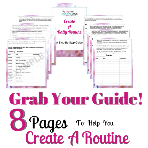 Create a Routine Printable