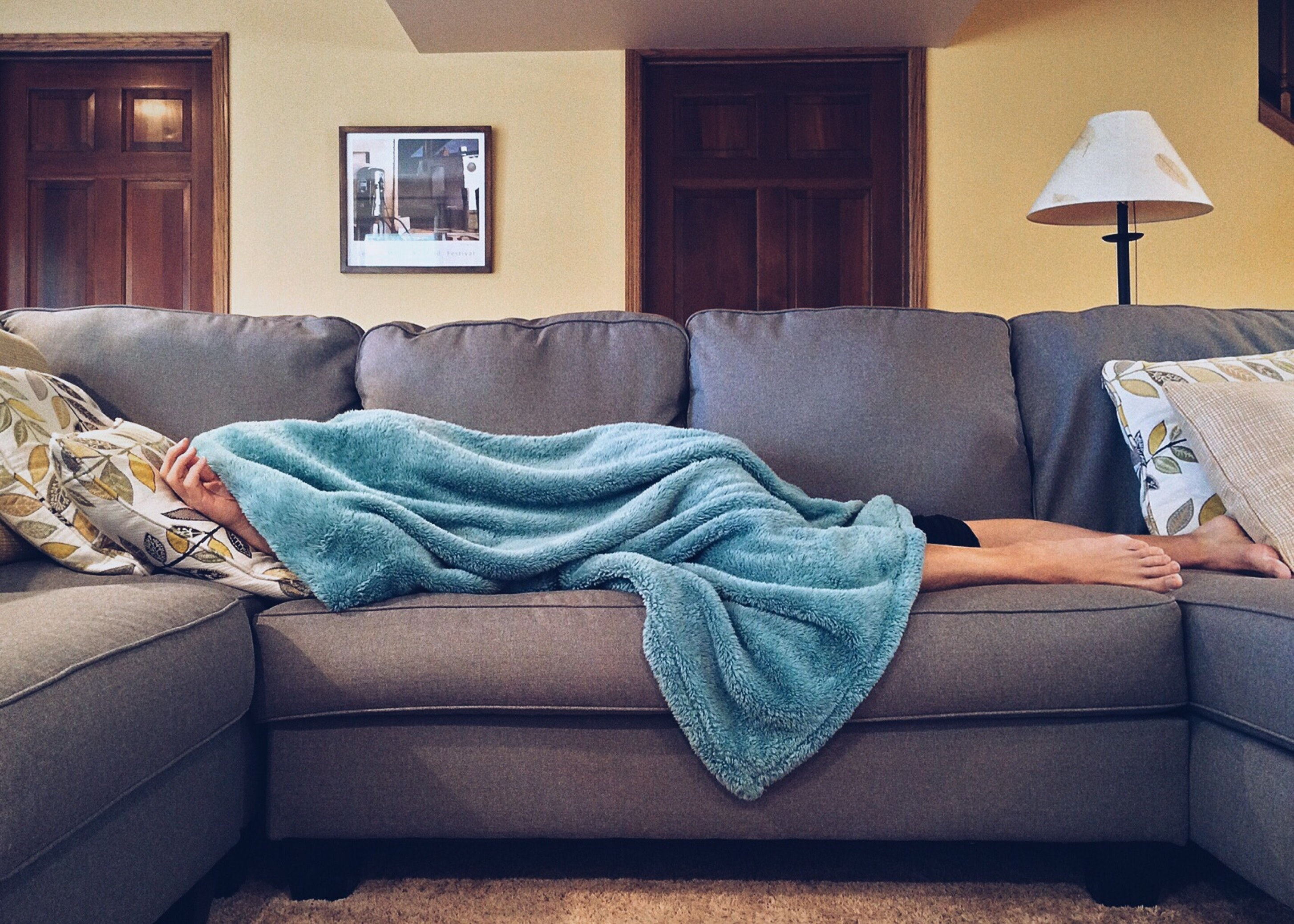 A mom can't call in sick! Here is how to get through the day with your kids!