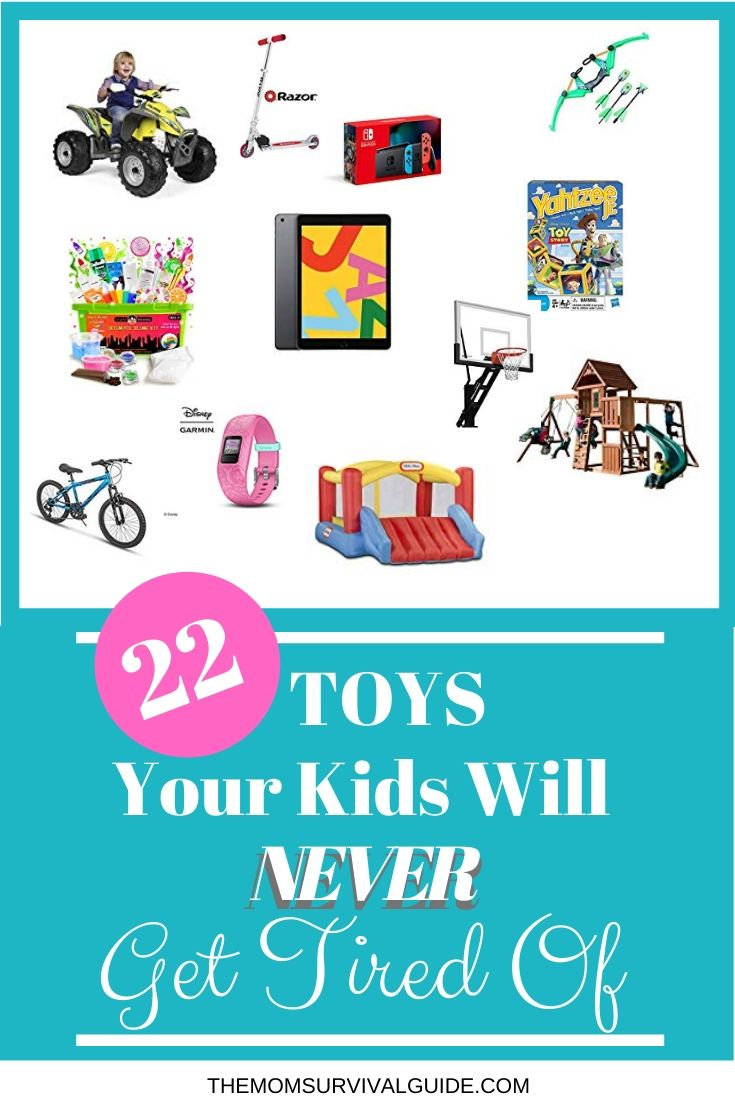 Toys your kids will never get tired of so you can buy them Christmas, birthday, and everyday gifts without worrying about wasting your money.  #gifts #kids #momlife