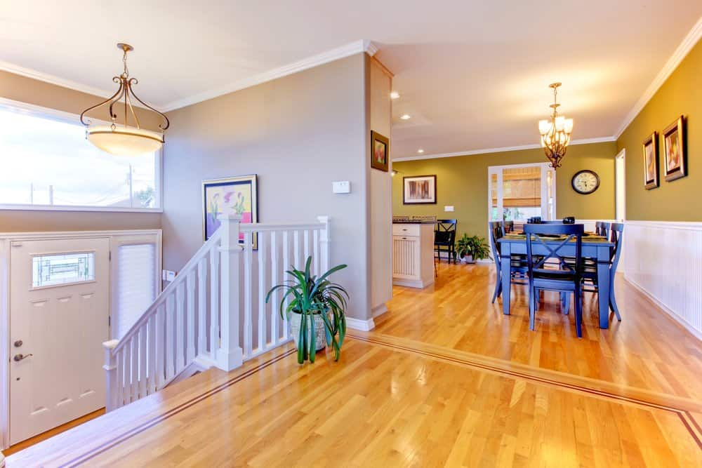 split level home that is clean