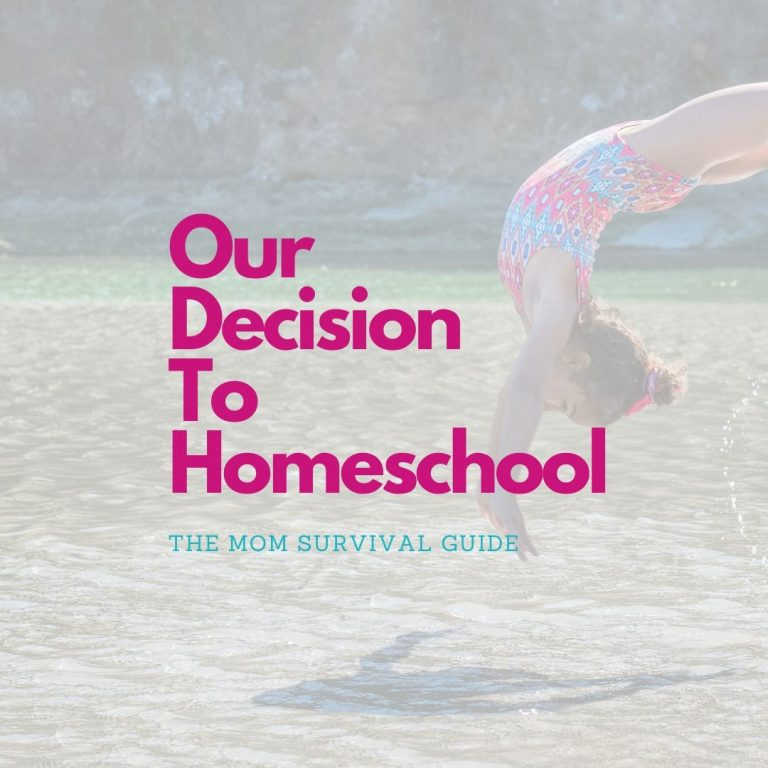 Start Homeschooling Your Child:  How To Decide