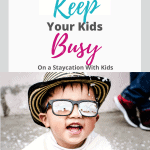 Staycation with kids