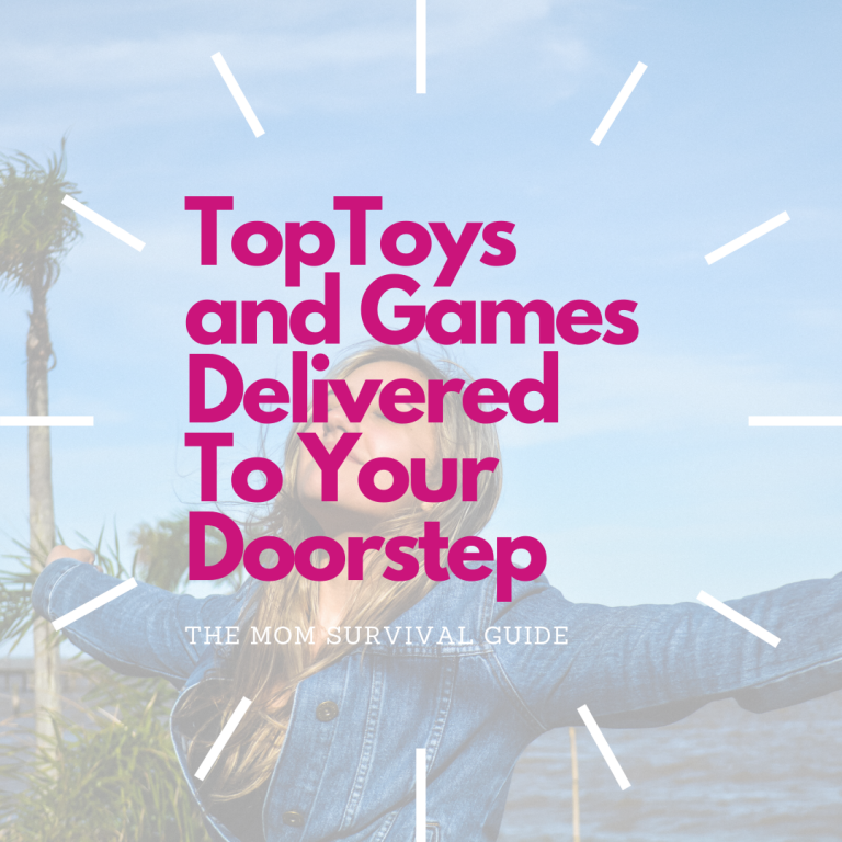 Toys and Games That Can Be Delivered To Your Doorstep!