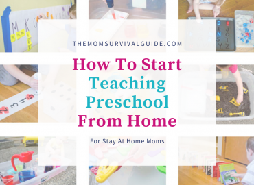 teaching preschool from home