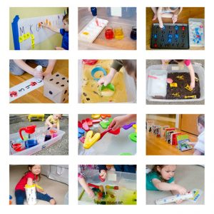 teaching preschool from home Busy Toddler