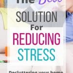 clutter causes stress