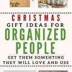 gifts for organized people Christmas Pin