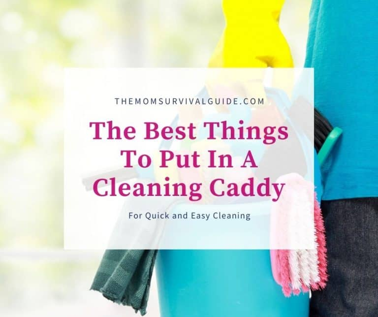 The Best Things To Put In A Cleaning Caddy For Quick And Easy Cleaning