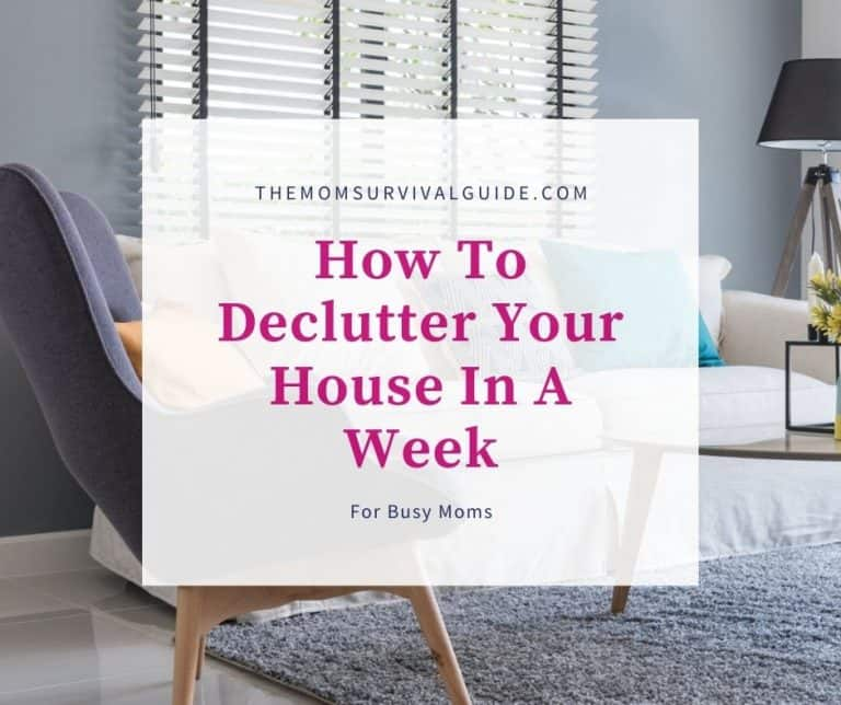 How To Declutter Your House In A Week