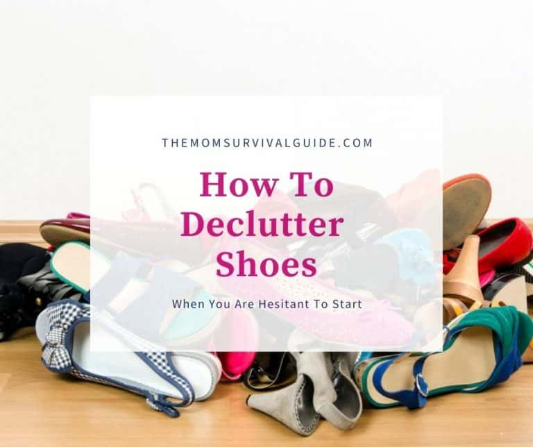 How To Declutter Shoes When You Are Hesitant To Start