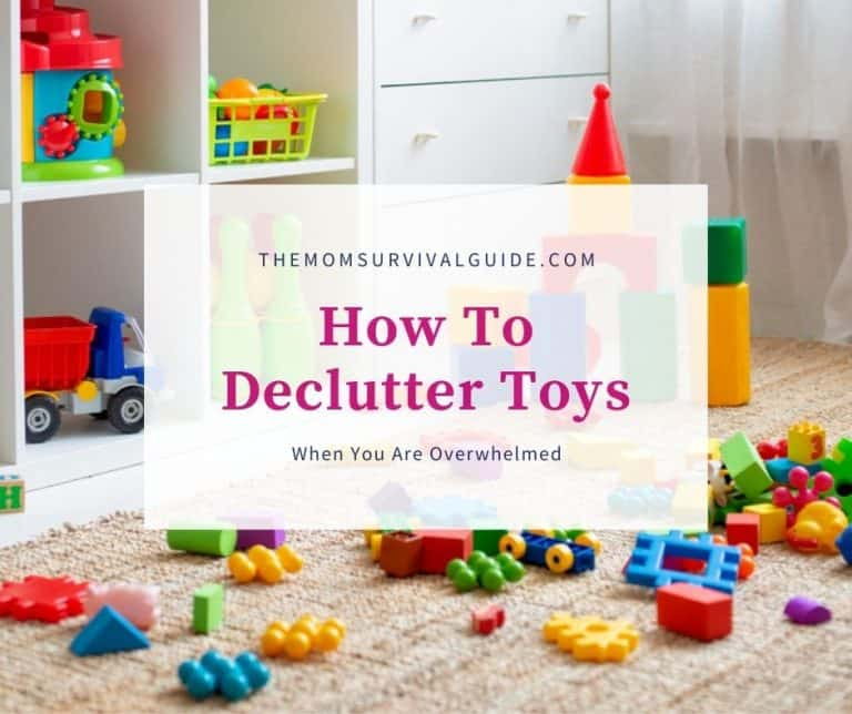 Practical Tips To Save Your Sanity When Overwhelmed By Toys