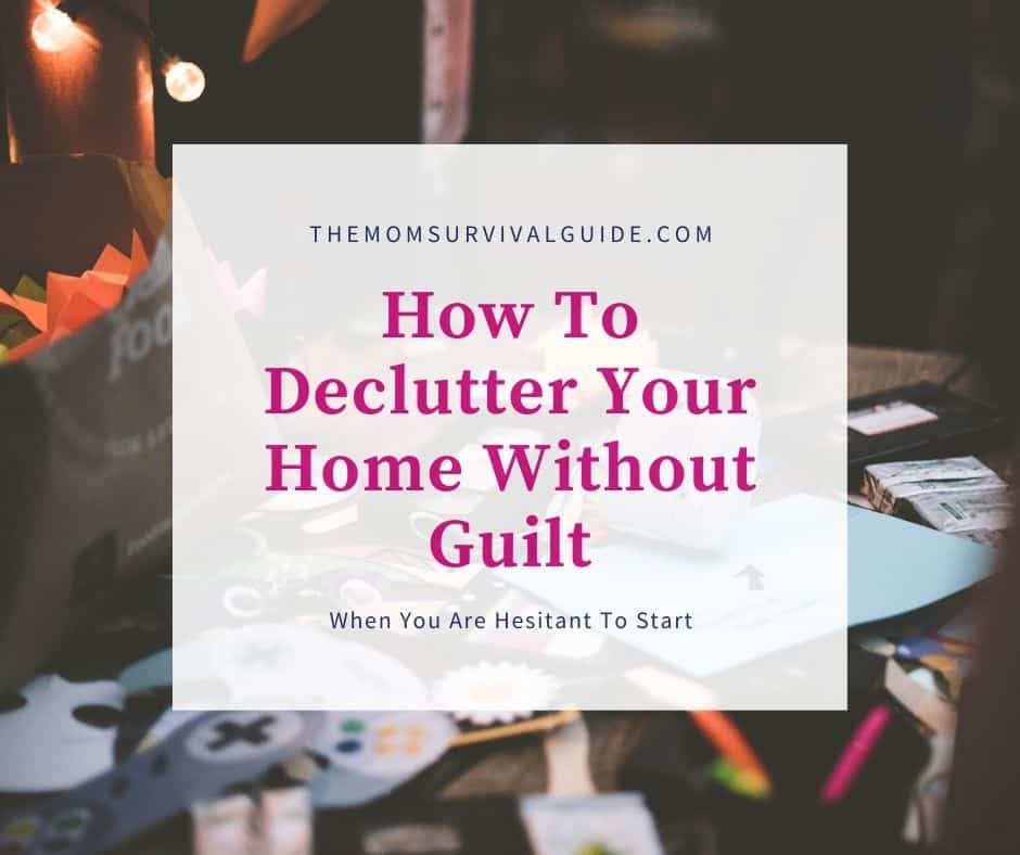 declutter without guilt