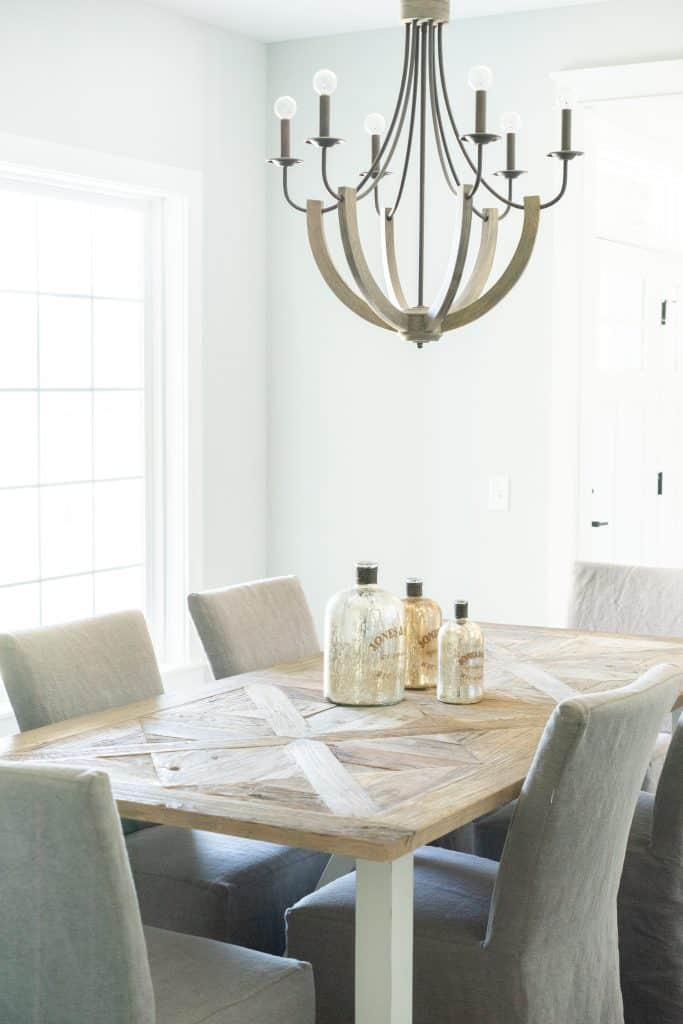 how to declutter a room dining room