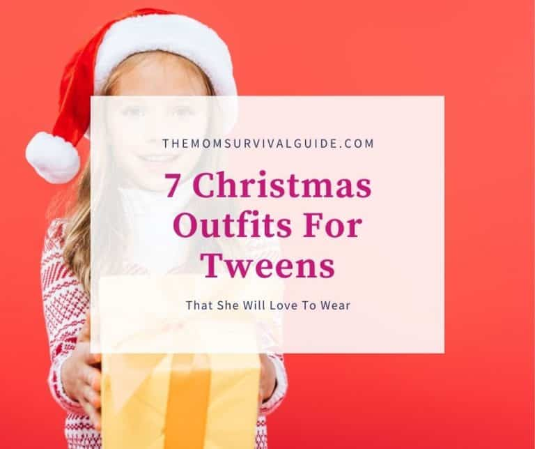 7 Christmas Outfits For Tweens That She Will Love