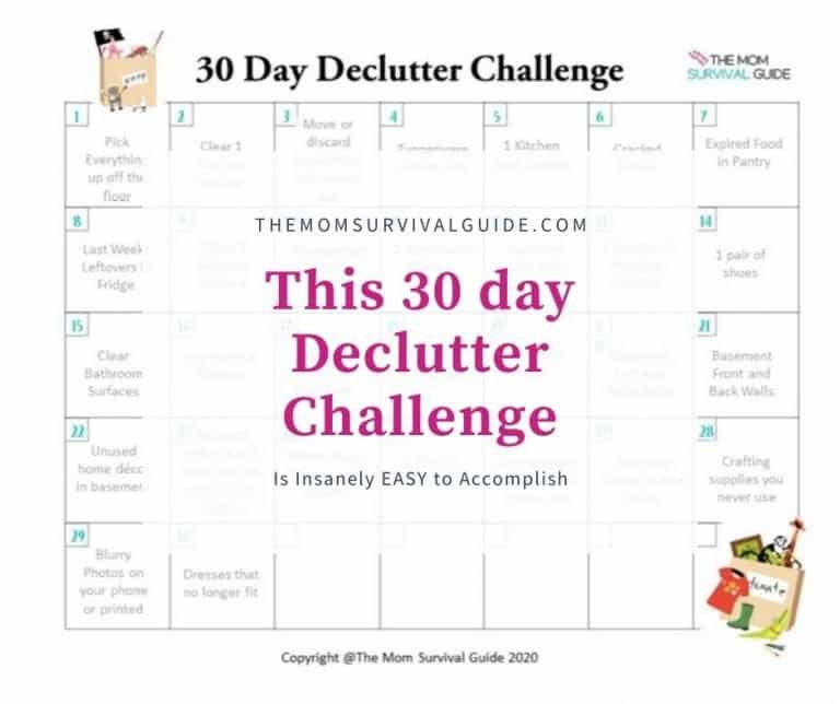 This 30 Day Declutter Challenge Is Insanely Easy To Accomplish