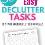 30 day declutter challenge pin