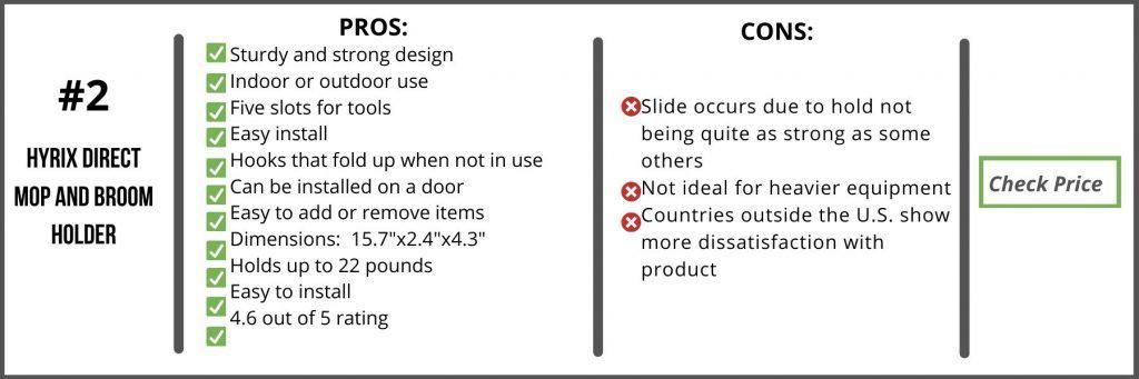 Best Broom Holder Comparison Chart2