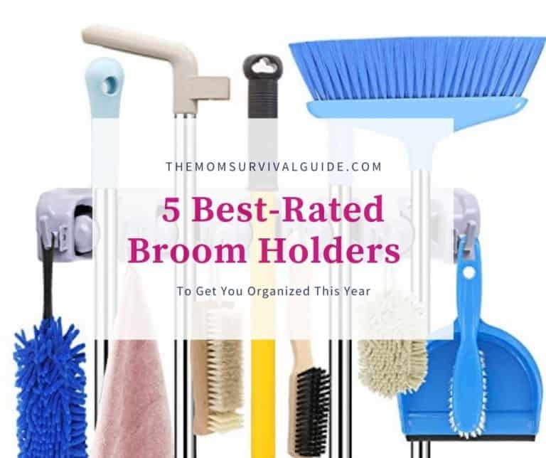5 Best-Rated Broom Holders You Need To Get Organized In 2021