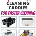 the best cleaning caddy for faster cleaning with pictures of 4 cleaning caddies