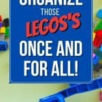 Words organize those legos once and for all on a picture of legos and storage case