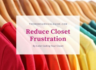 color coded closet Feature Image multi colored shirts