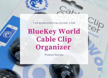 feature image bluekey world cable clip organizer image of black holders in blister package of blue and white