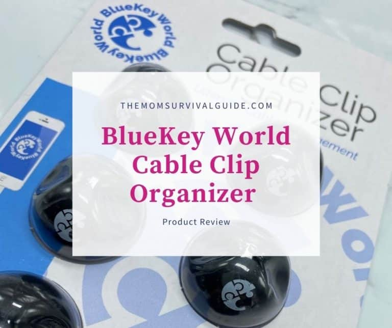 BlueKey World Cable Clip Organizer Review