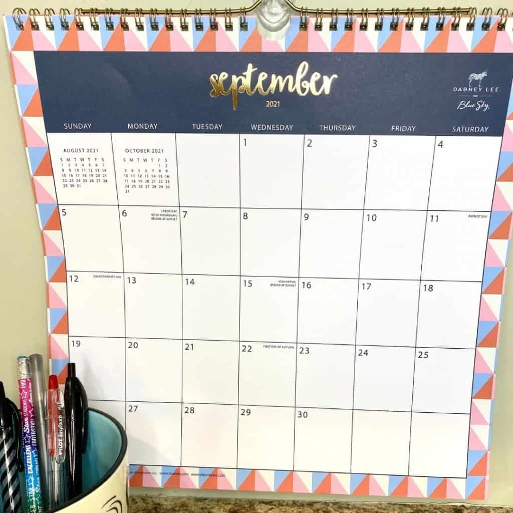 calendars are important to use like this wall calendar
