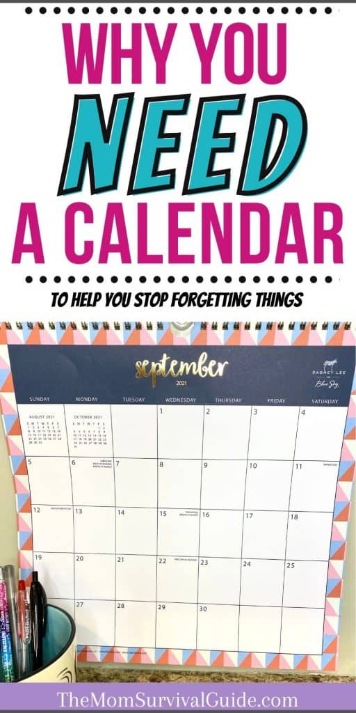 why calendars are important wall calendar pin