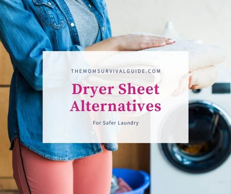 Dryer Sheet Alternatives That Are Safer For Your Family's Clothes