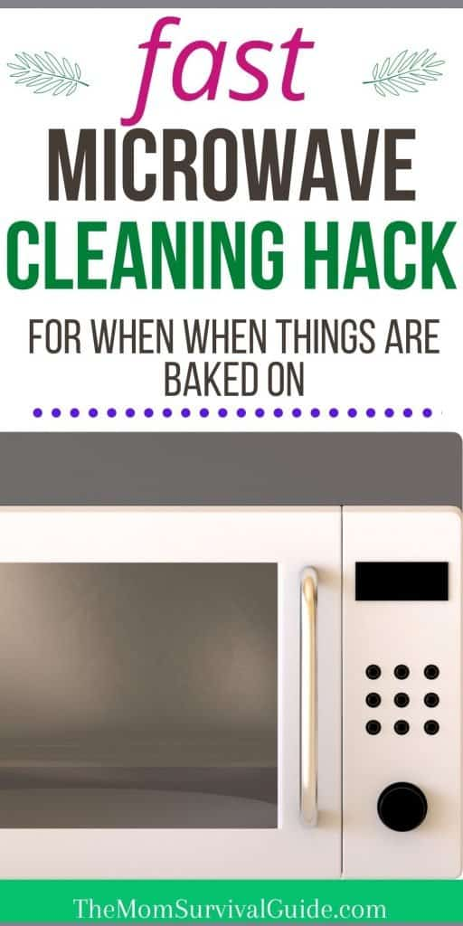 how to clean microwave with apple cider vinegar pin