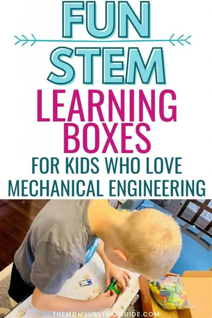 stem learning boxes best science kits pin