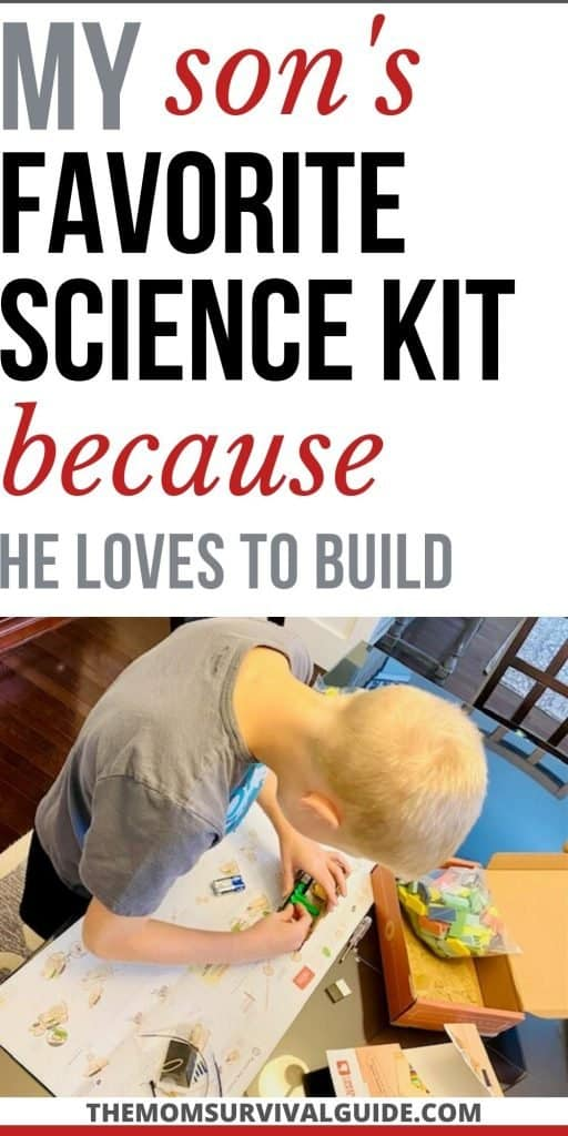 best science kit for someone who loves to build pin