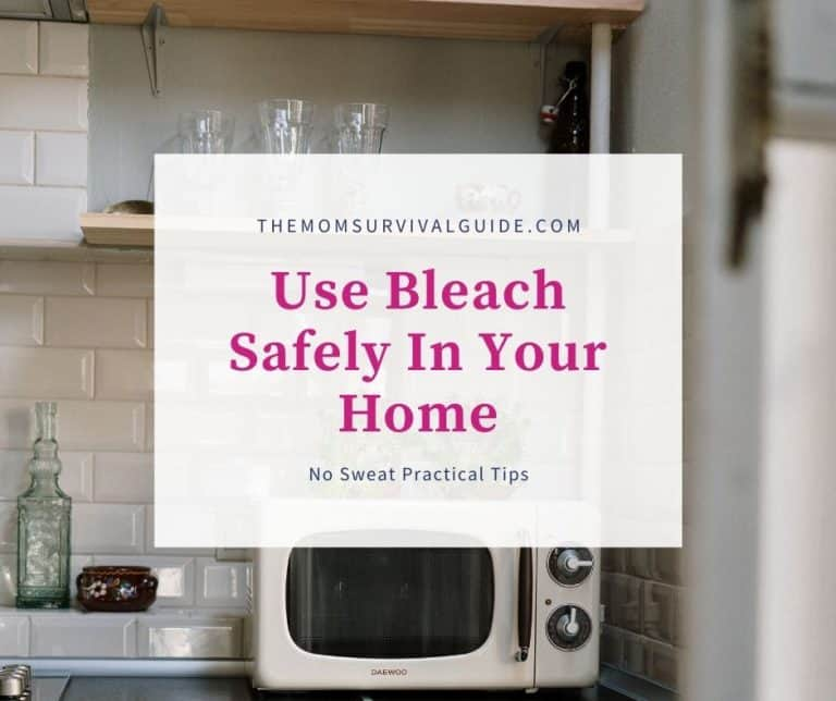 No Sweat Practical Tips For Using Bleach In Your Home Safely