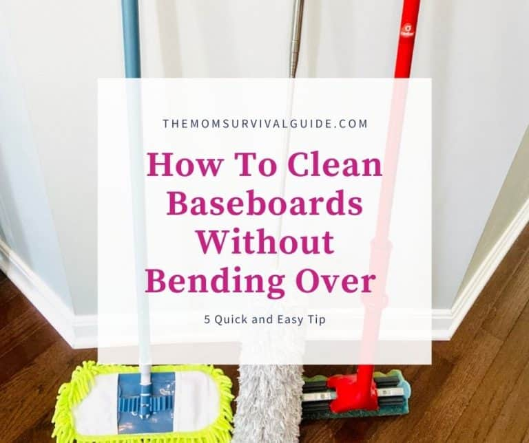 How To Clean Baseboards Without Bending Over : 5 Quick And Easy Tips