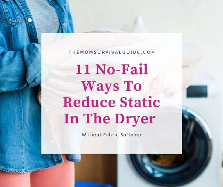 11 No-Fail Ways To Reduce Static In The Dryer Without Fabric Softener