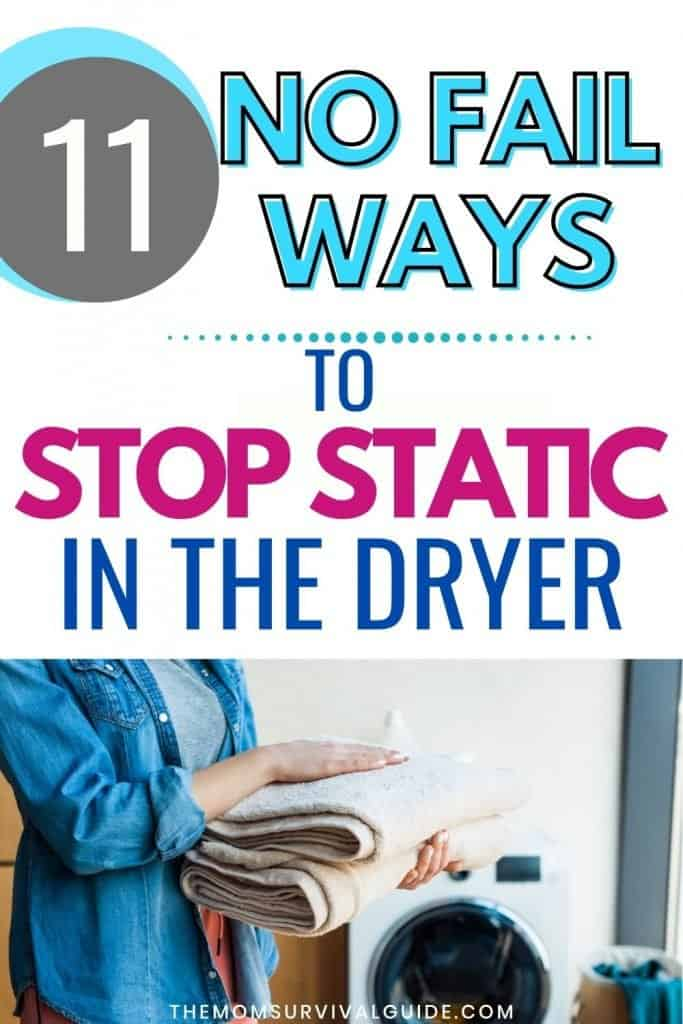 how to stop static in the dryer PIN
