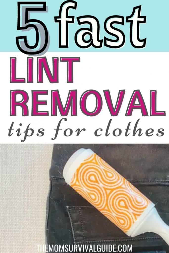 5 fast lint removal tips for clothes pin with black pants and lint roller