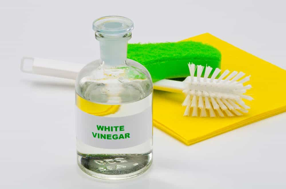 vinegar can reduce static